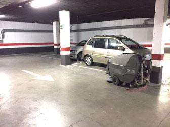 limpieza de garaje en madrid