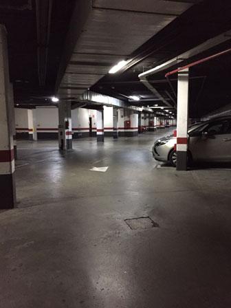 Después de la limpieza del garaje