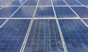 Limpieza de placas solares con ósmosis