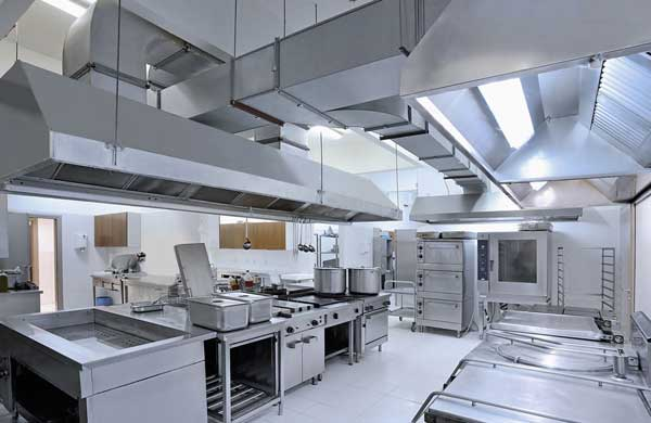 Limpieza de cocinas de restaurantes geindepo for Plano de una cocina de un restaurante