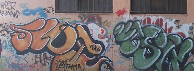Consejos para limpiar un graffiti