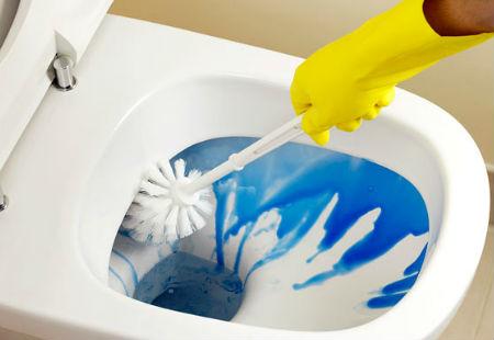 limpieza de wc