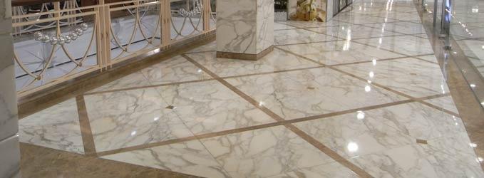 Limpieza y tratamientos de suelos de mármol