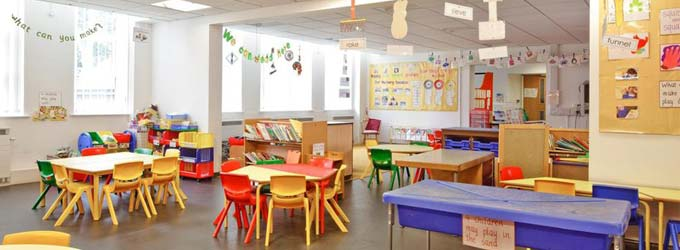 Limpieza de guarderías y colegios