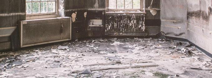 ¿A quién contratar para limpiar una vivienda afectada por un incendio?