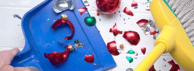 Consejos para ayudarte a limpiar después de la fiesta de Año Nuevo