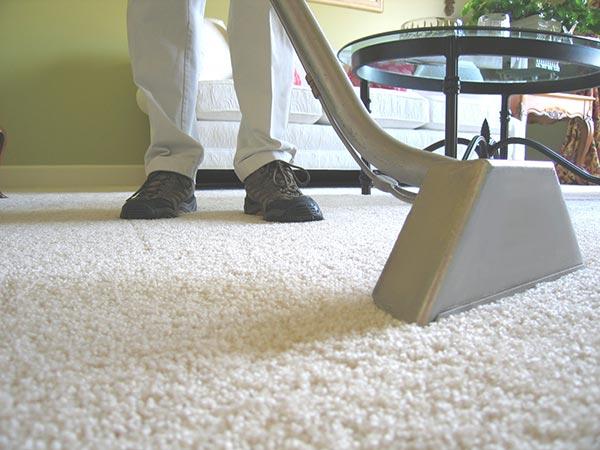 Aspirado de alfombras