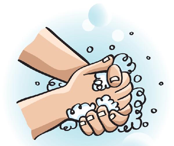lavar las manos para prevenir el contagio de gérmenes
