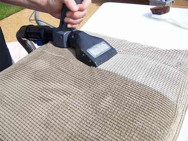 aspirado de tapicería