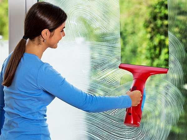 limpiar cristales con aspirador