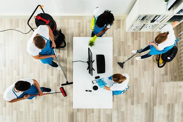 limpieza proactiva de oficinas