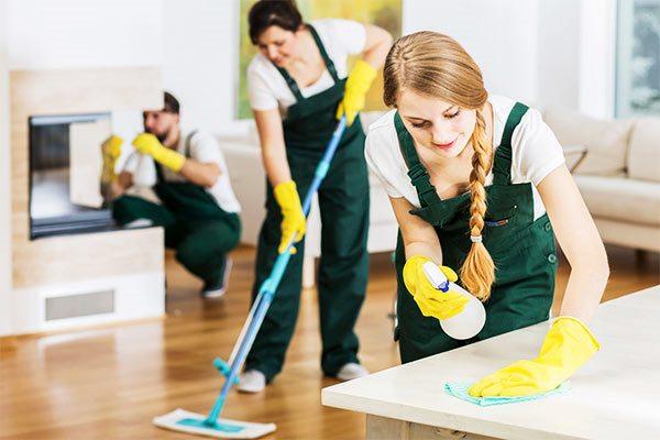 limpieza profesional durante una reforma