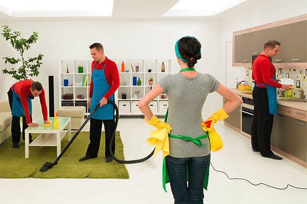 control de tareas de limpieza profesional