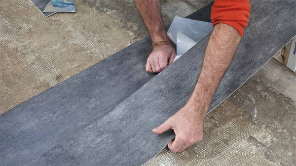 reparación de suelos de vinilo