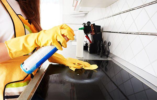 limpieza de cocinas y baños en apartamentos alquilados