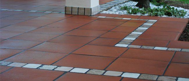 limpieza de suelos de terracota o barro cocido