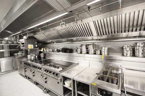mantener limpia la cocina de un restaurante
