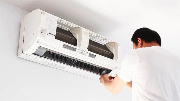 limpiar un aire acondicionado