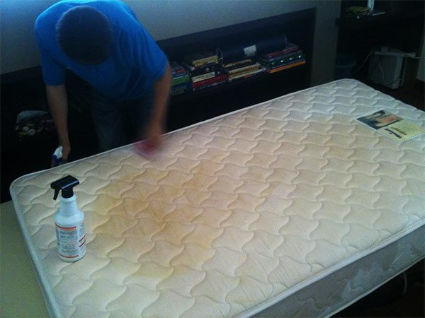 como limpiar un colchón