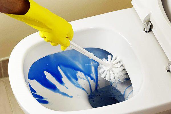limpieza del wc