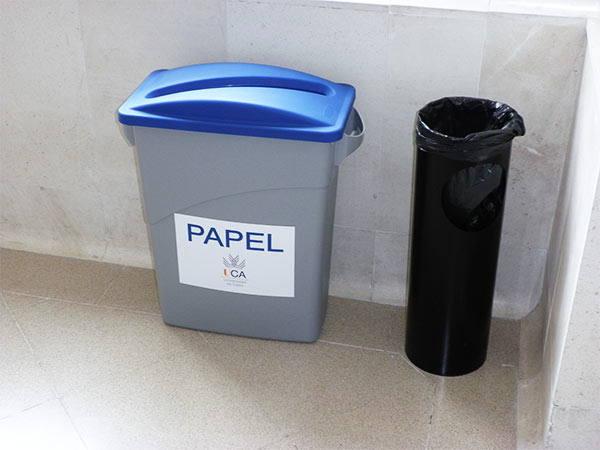 instalación de papeleras en comunidades