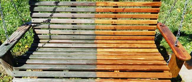 Limpieza del mobiliario de exterior en comunidades de propietarios