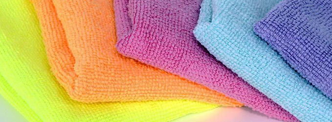 Uso de código de colores para la limpieza
