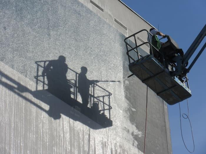 Limpieza química de fachadas