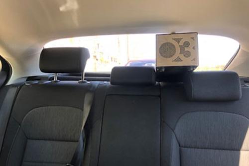Limpieza interior de coche con ozono
