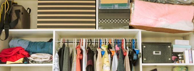Cómo organizar un armario pequeño en casa