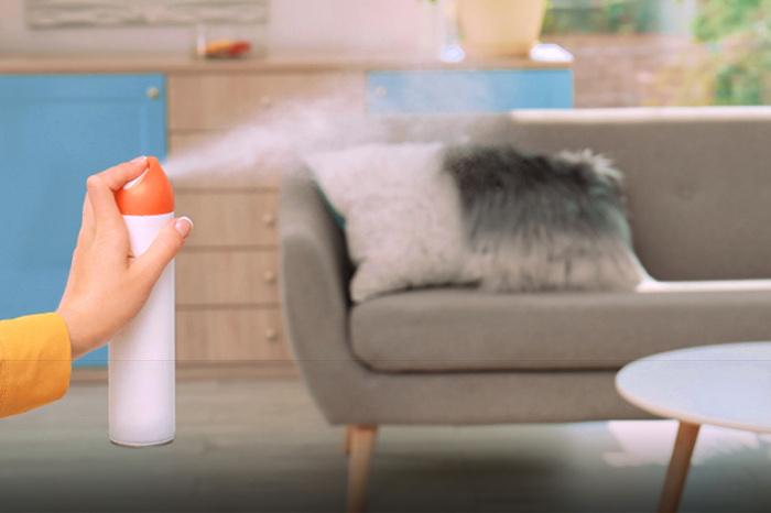 Eliminando olor a tabaco de los textiles