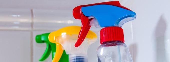 Productos de limpieza que pueden contaminar el medio ambiente