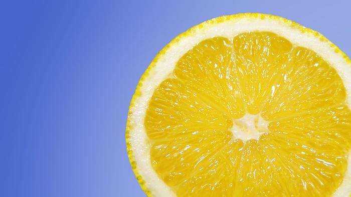 El zumo de limón para limpiar el óxido