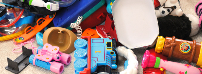 Cómo organizar juguetes en espacios pequeños