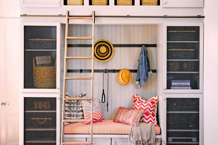 Mueble funcional para organizar en vertical