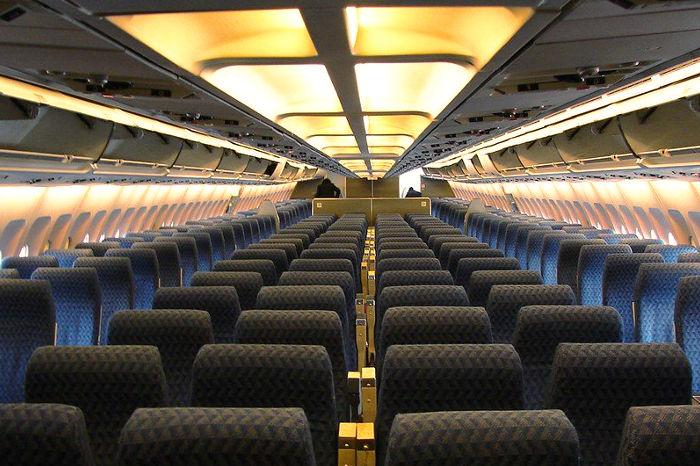 Uso de los filtros hepa en aviones