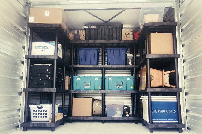 Organizar el trastero convenientemente