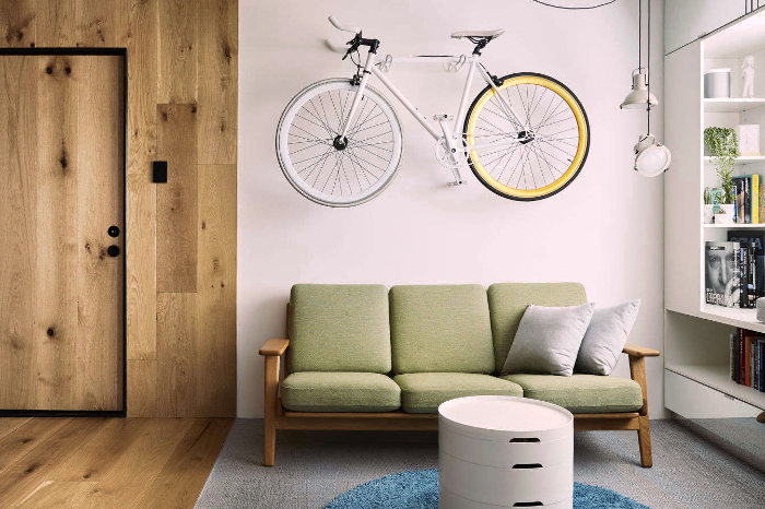 Organización de muebles en un espacio reducido
