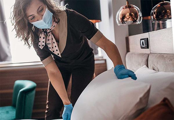 Desinfección de dormitorios y habitaciones