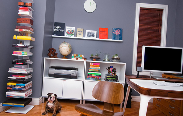 Habitación perfectamente organizada