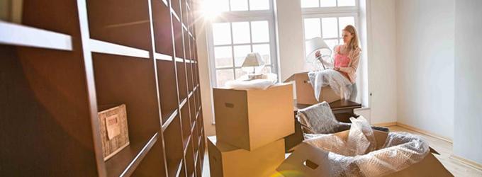Limpiar la casa antes de una mudanza